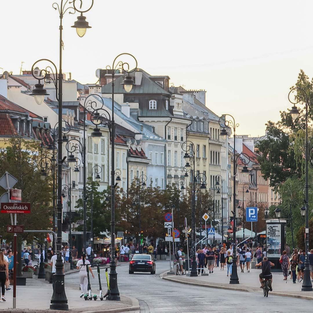 Altstadt in Warschau