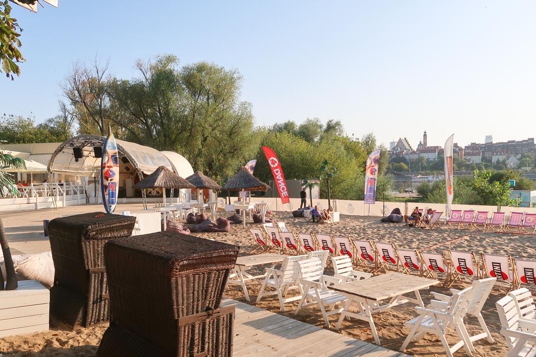 Bars an der Weichsel in Warschau