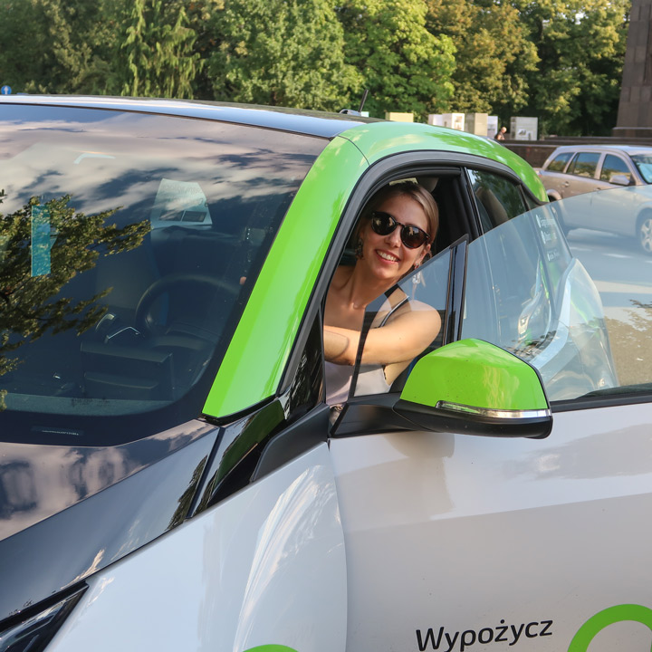 Innogy Carsharing in Warschau