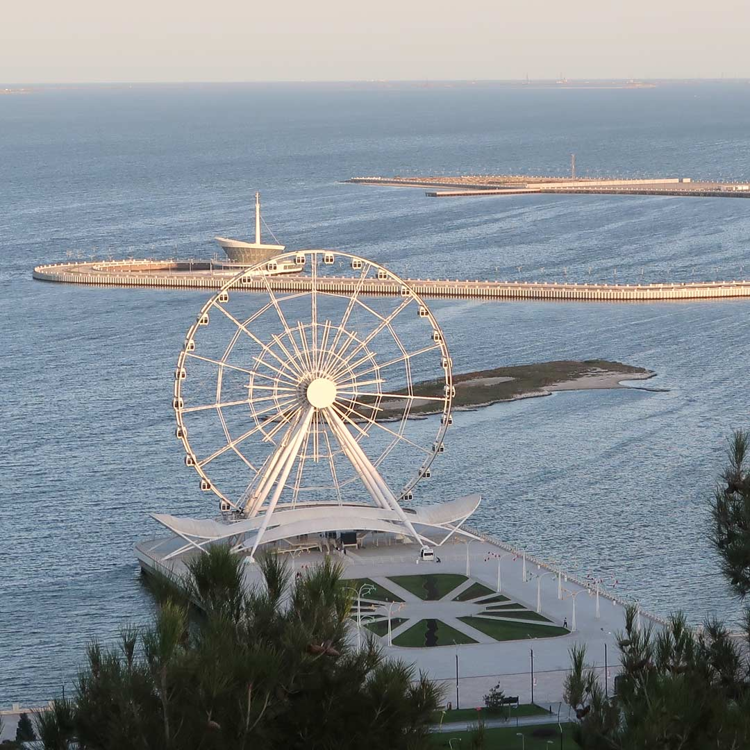 Baku Ferris Wheel Sehsnwürdigkeit