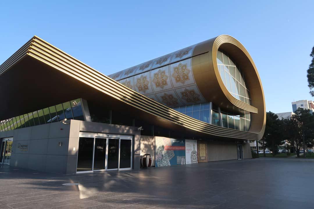 Teppich Museum in Aserbaidaschan