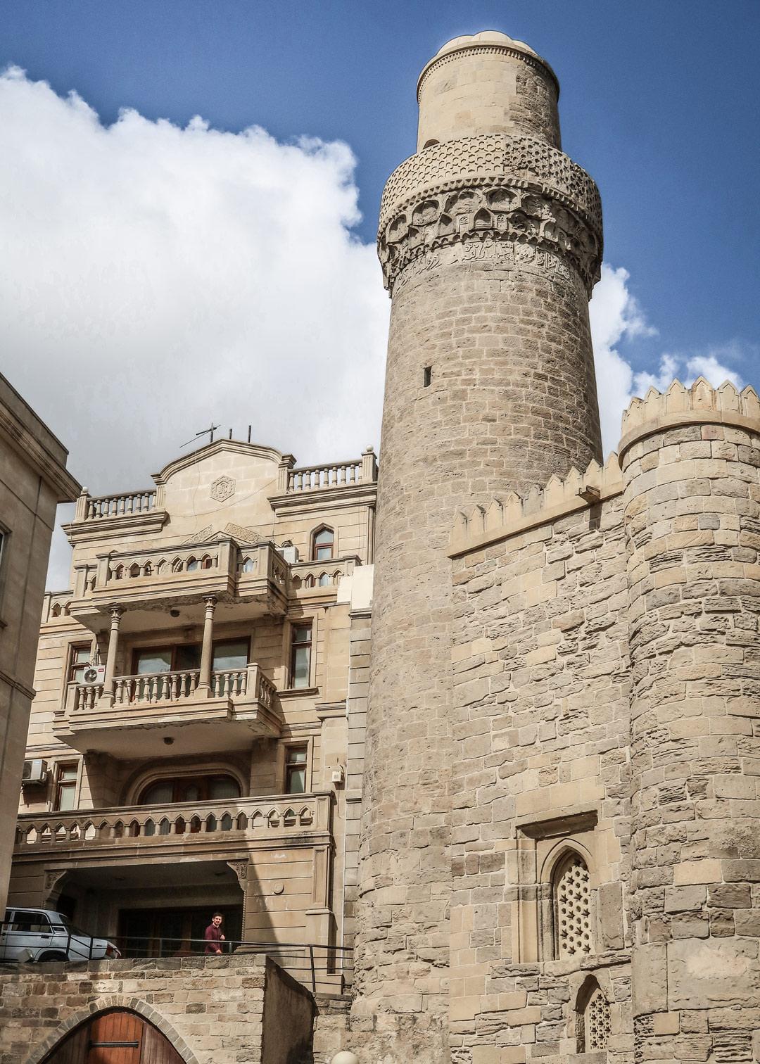 Baku Sehenswürdigkeiten Altstadt Mohammed Moschee