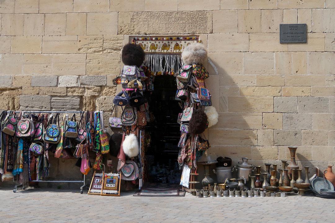 Baku Altstadt Geschäft