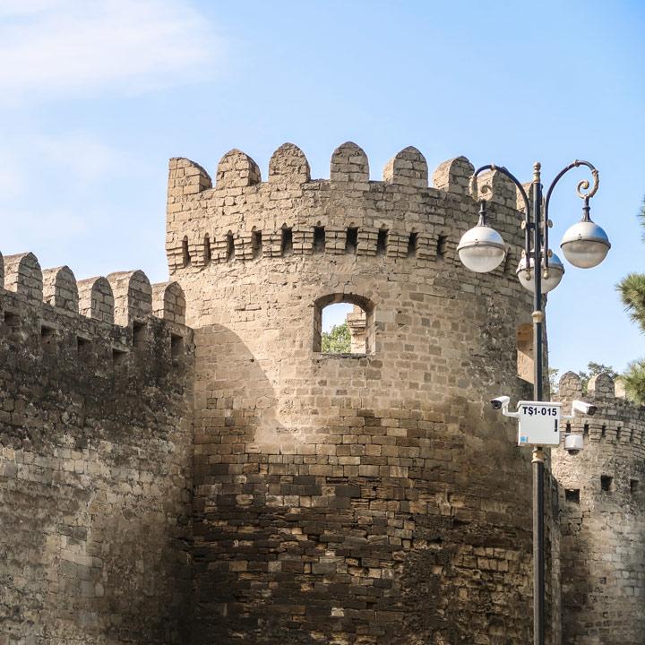 Baku Altstadtmauern