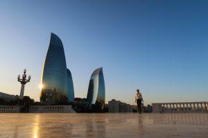 Aserbaischan Baku sehenswürdigkeiten Flame Tower