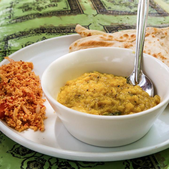 Gerichte in Sri Lanka