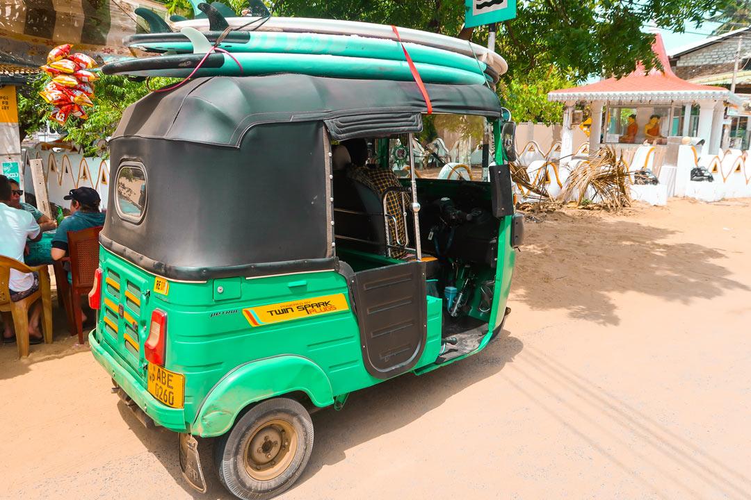 Fortbewegung in Sri Lanka