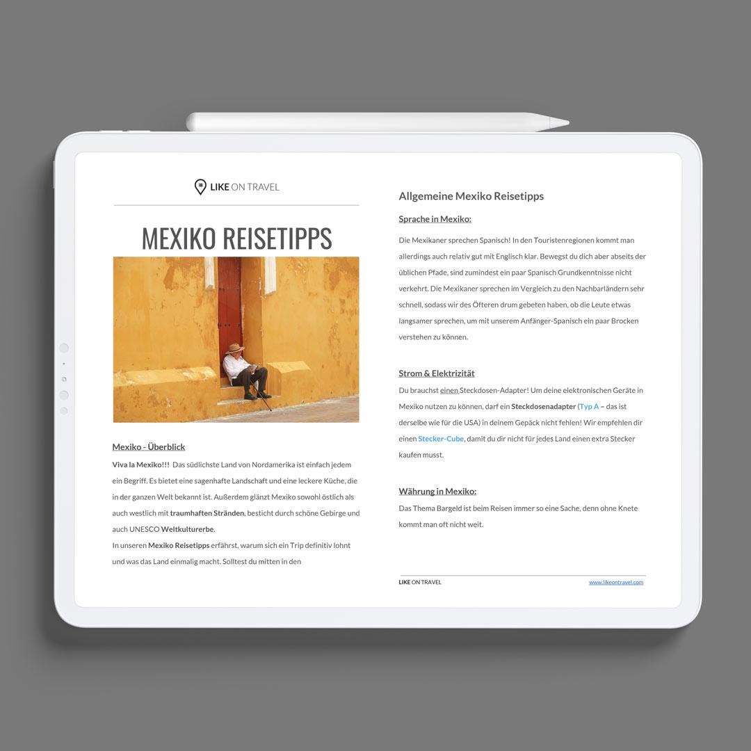 MExiko Reisetipps PDF