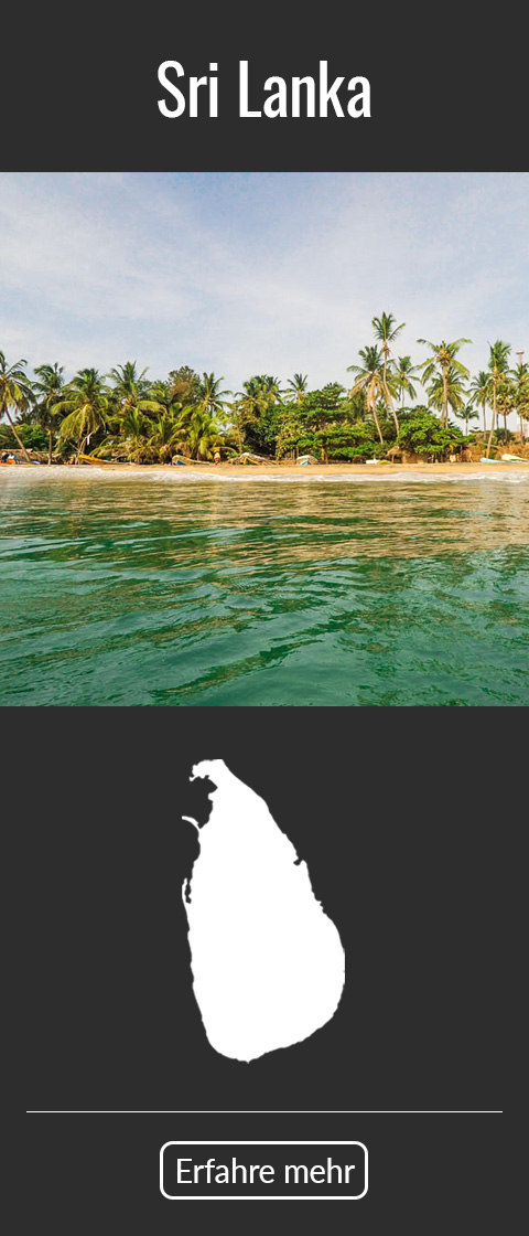 Sri Lanka Reiseziel