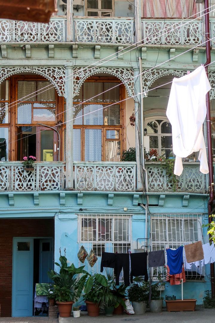 Altstadt in Tiflis