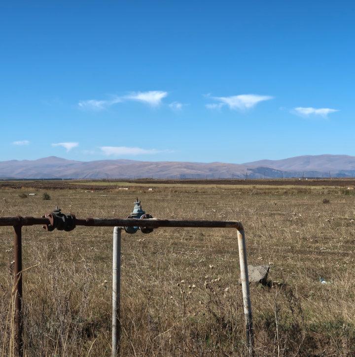 Armenische Grenze in Georigen