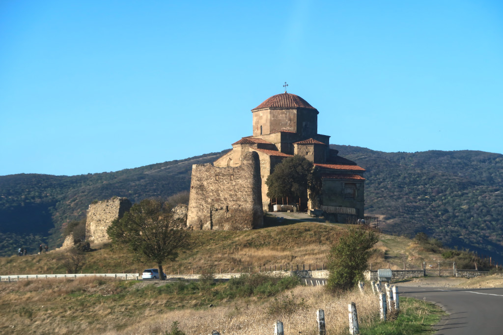 dschwari kloster in tilflis