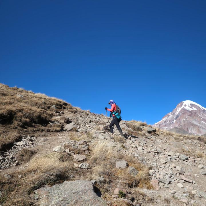 Kazbegi Wanderung
