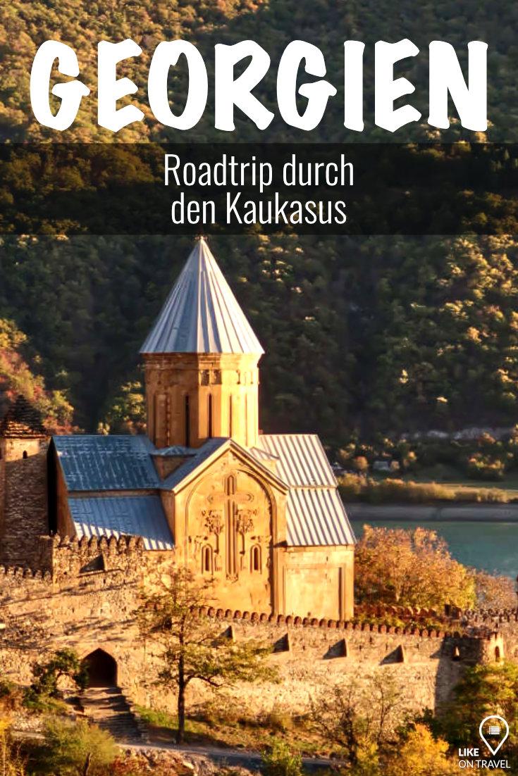 Georgien Rundreise - Roadtrip durch den Kaukasus! #europa #asien #georgien #urlaubineuropa #roadtrip #rundreise #georgienreise #reiseblog #likeontravel #reisekosten #reiseroute