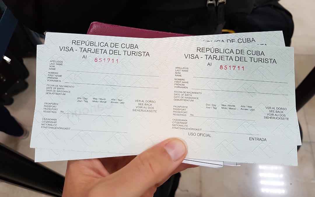 Einreise in Kuba