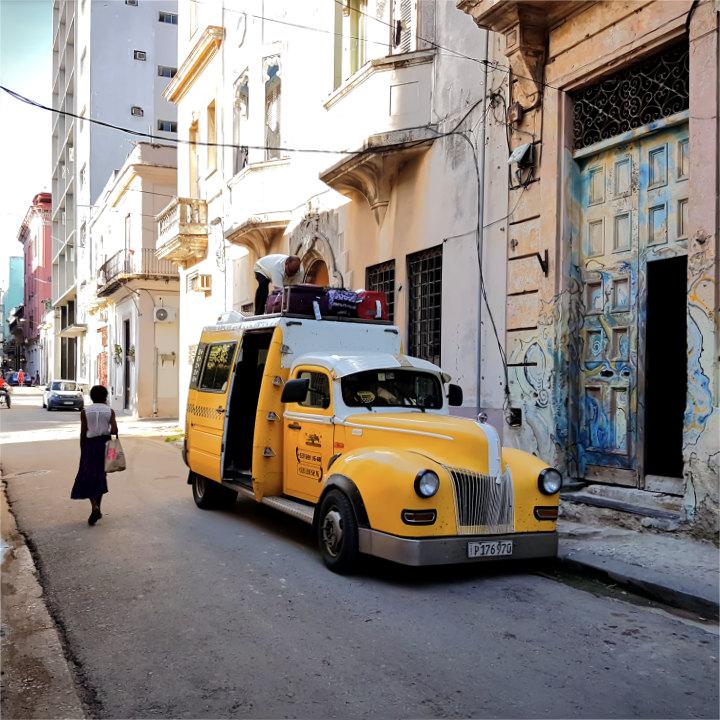 Fortbewegung in Kuba