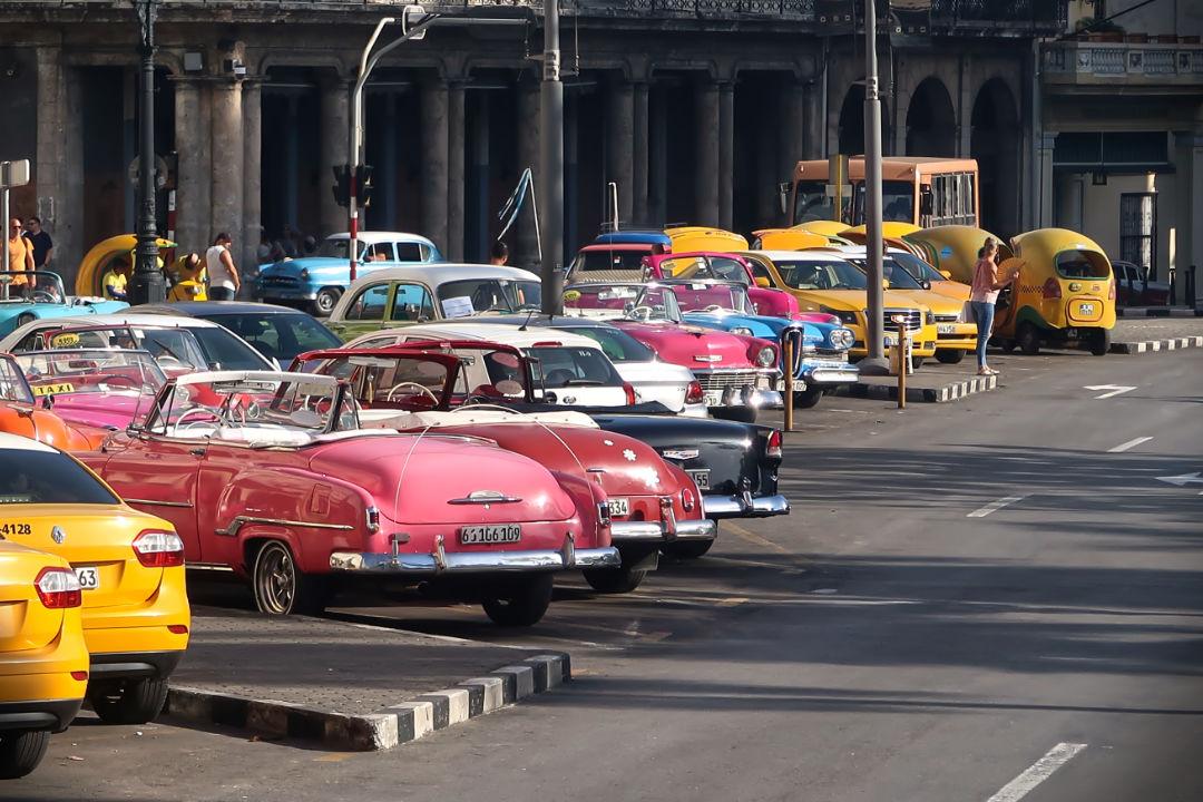 Sightseeing in Kuba
