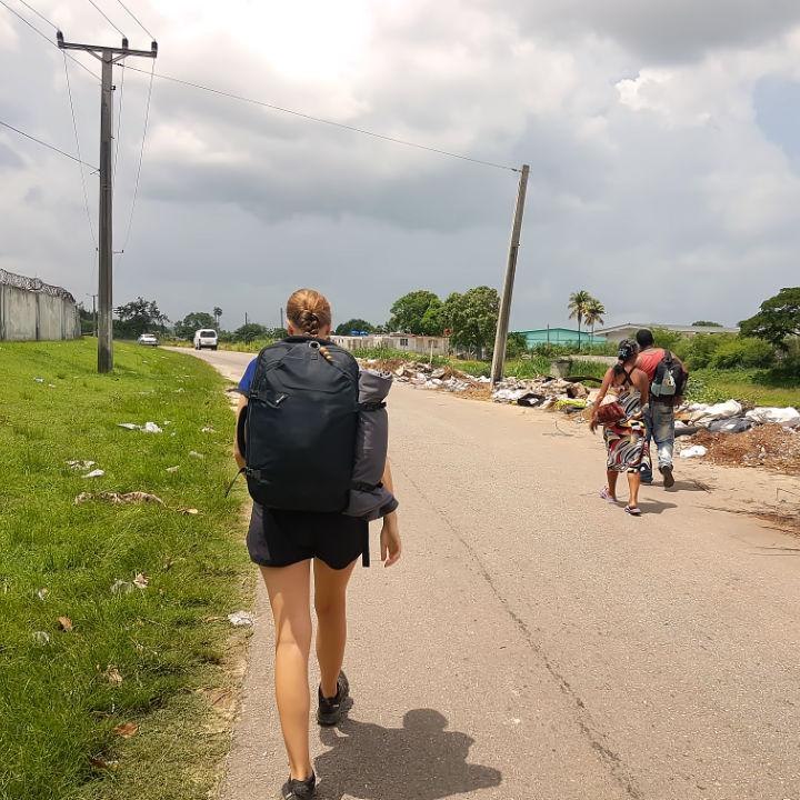 Backpacking Kuba