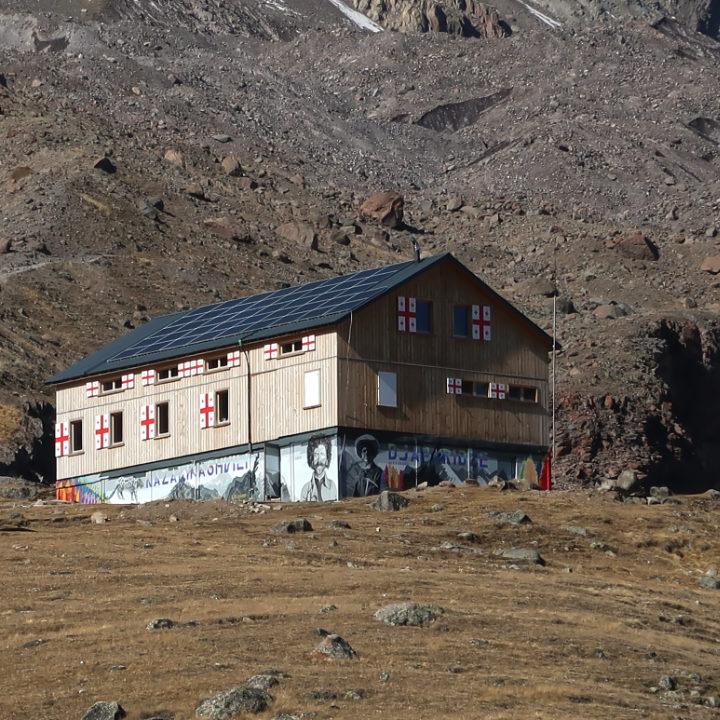 Wanderhütte Georgien