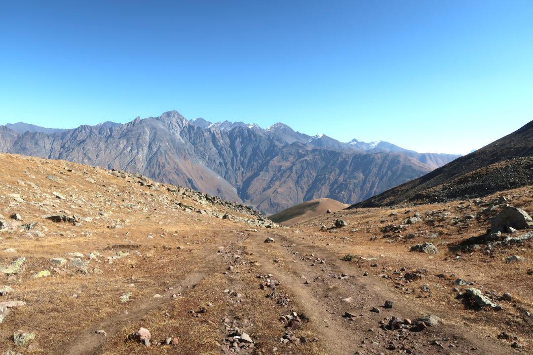 Ausblick vom Kazbek