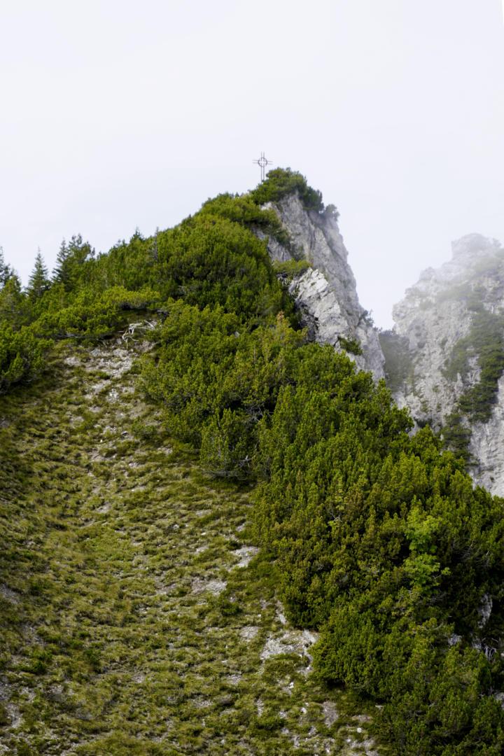 Weg zum Alpspitzkreuz