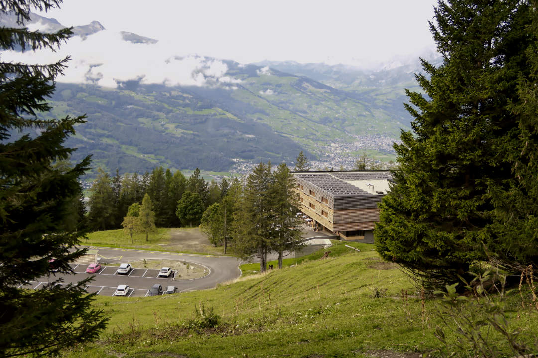 Parkplatz Galfei für den Fürstensteig