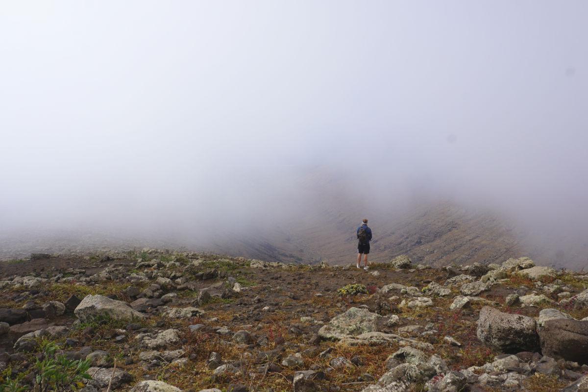 Nebel in den Bergen