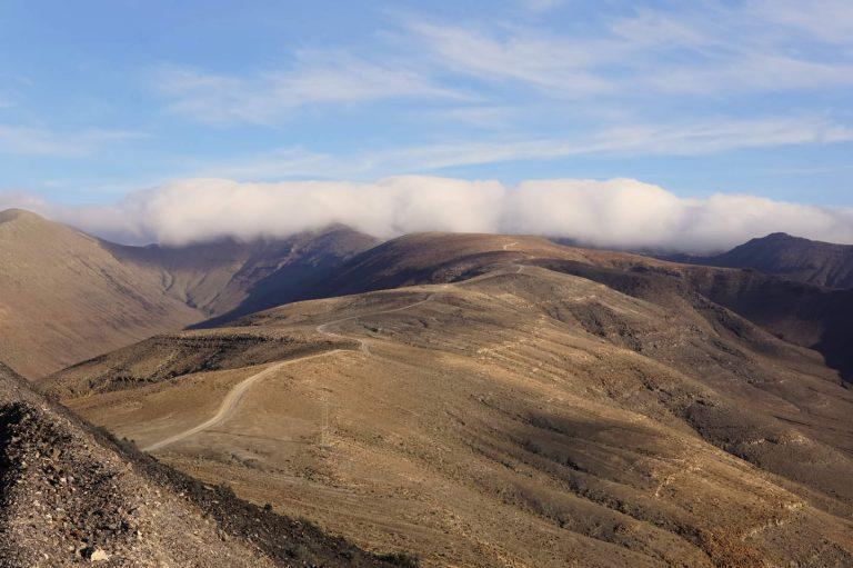 Wanderweg zum Pico de la Zarza