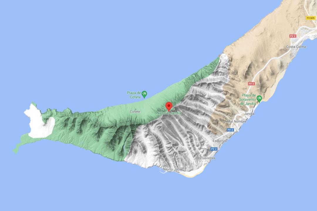 Map Pico de la Zarza
