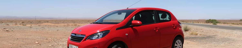 Peugeot 108 - treuer Begleiter während des Roadtrips